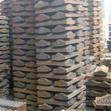 Alta fodera dell'acciaieria del manganese per il laminatoio della sfera Mill/AG