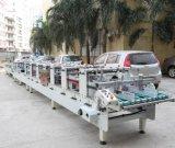 Automatischer bunter Paket-Kasten APET Belüftung-pp., der Maschine klebt