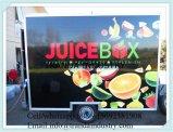Reboque do alimento e caminhão do refrigerador