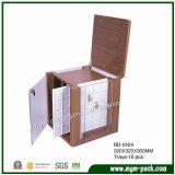 Casella di memoria di legno dei monili di buona qualità