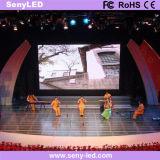 Innenleistung LED-Bildschirmanzeige des stadiums-P4