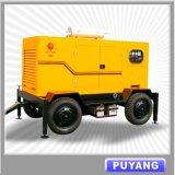 10kw au générateur 800kw diesel mobile avec trois ou quatre roues (PFGF)