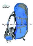 Professionlal im Freien wasserdichter Nylonfreizeit-Arbeitsweg-kletternder kampierender Sport, der Rucksack wandert