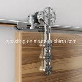Hardware de madera de desplazamiento resistente de la puerta del granero del Pinwheel moderno del estilo