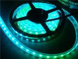 5V RGB batteriebetriebenes LED Streifen-Licht mit grellem Controller