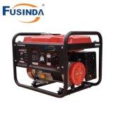 2016 nuevo tipo generador portable de la gasolina de la gasolina 2kVA del uso del hogar pequeño con el comienzo eléctrico y la batería (FH2500E)