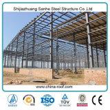 Estructura de acero del diseño prefabricado de la construcción para la vertiente de la fábrica