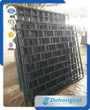 Cerca decorativa do ferro feito da alta qualidade da segurança (dhfence-6)