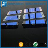 絹プリントiPhone 6/6sのための反青く軽い緩和されたガラススクリーンの保護