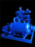 F2be1151 Noncorrosive Vacuum Pump mit Closed System
