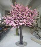 가정 결혼식 정원 상점 훈장을%s 가짜 나무 백색 빨간색