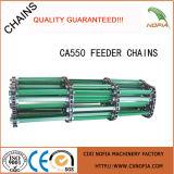 コンバインのチェーン送り装置の家の鎖Ca555-C6e