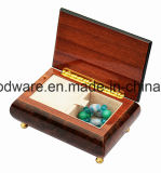 Коробка подарка нот высокой отделки рояля лоска деревянная