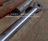 Pistão duro Rod do cromo no cilindro hidráulico