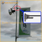 ポスター立場(BS-BS-056)を広告している金属の通りポーランド人
