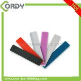 外国h3チップが付いている柔らかいシリコーンUHF RFIDの洗濯の札