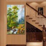 Het in het groot Olieverfschilderij Van uitstekende kwaliteit van de Decoratie, het Mooie Olieverfschilderij van de Boom van de Pijnboom