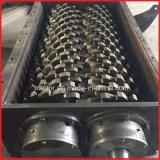 二重シャフトの無駄のゴムか使用されたタイヤのシュレッダー機械