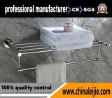 Barre d'essuie-main carrée d'accessoires de salle de bains de Double couche de forme