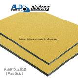 Панель золота слитка алюминиевая составная с хорошим качеством