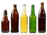 bernsteinfarbige 330ml Bierflasche