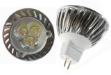 Aluminum HouseのGU10 3X1w High Power LED Lamp