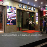 Shop Front Sign Poster Frame LED Menu를 가진 Hot 새로운 Sales Exterior Wall Mounted 상점 Front Signs