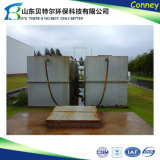 Installation de traitement d'eaux d'égout de module pour le traitement des eaux résiduaires domestique et industriel