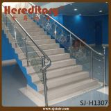 階段ホテル(SJ-H1415)のための内部のステンレス鋼のガラス柵デザイン
