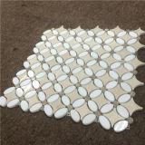 Eleganter Entwurfs-Wasserstrahlmosaik-Fliese, Mosaik für Haus-Dekoration