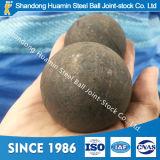 Bola de acero forjada Wear-Resistant para la mina de cobre 20m m