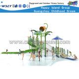 Crianças plásticas Playsets do equipamento da corrediça do parque da água (M11-04503)
