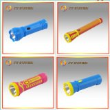 Jy Super 0.8W New Rechargeable LED Flashlight para Emergency (JY-1717)