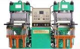 Doppeltes Station-Vakuumpumpe-Gummisilikon-vulkanisierenmaschinerie
