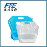 Bottiglia di acqua pieghevole personalizzata poco costosa 5L