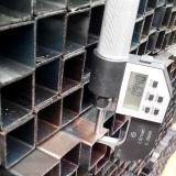 Condutture vuote d'acciaio saldate del quadrato nero del carbonio