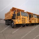 Sinotruk HOWO 70ton 6*4鉱山のダンプトラック
