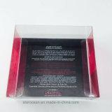 Pet cajas de plástico para cosméticos con UV Impresión