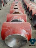 T-stuk van de Montage van de Pijp van de Plaat van het staal het uiteinde-Lassend (het staal van de legering)