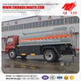 Caminhão de petroleiro de aço do combustível de Q235-a para o carregamento do diesel/gasolina