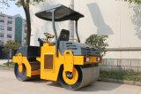 道路工事機械XCMG様式Yzc3hの新しい道ローラーの価格