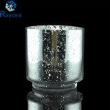 Florero de cristal galvanizado alta calidad para la decoración