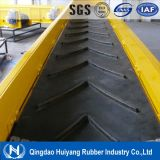 Chevron Patterned Rubber Conveyor Belt