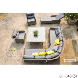 Jogos ao ar livre do sofá, mobília do Rattan do pátio, jogos do sofá do jardim (SF-348)
