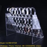 L'acrylique clair d'Assemable de 3 rangées observe la crémaillère d'étalage