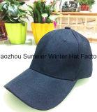 Chapeau blanc fait sur commande bon marché plus casquettes de baseball facultatives de sport de couleur