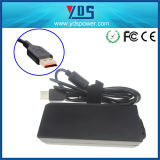 adaptateur d'alimentation AC d'ordinateur portatif de 20V 3.25A 65W pour le yoga 3 de Lenovo USB PRO