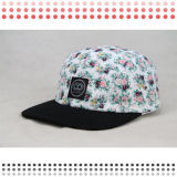 2016 sombreros planos en blanco de encargo del casquillo del Snapback del panel del borde 5