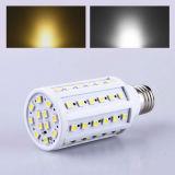 Ampoule de lampe légère économiseuse d'énergie de la lampe DEL 9W du maïs 15W d'E27 60PCS 5050 110V/220V