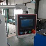 Type alimentant de côté ouvert de côté machine sertissante de boyau hydraulique procurable pour le dépliement et la bride